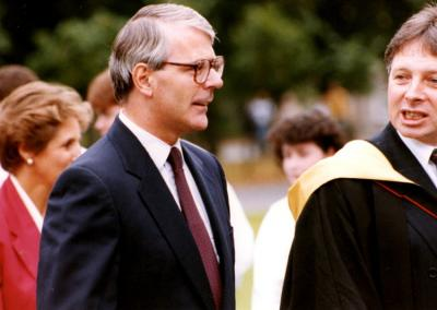 John Major & John Swan, Rector