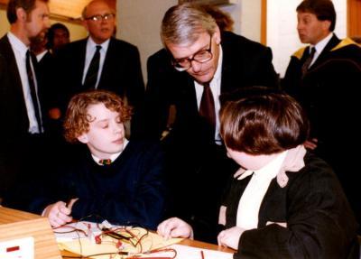 Gordon MacPherson, Lord Sanderson & John Major