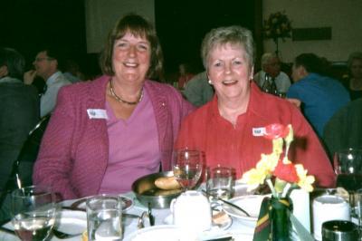 Pat Reid and Carolyn Dean