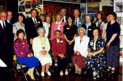 75th Anniversary group